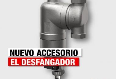 Desfangador, el accesorio ideal para extender la vida útil de tu Caldera.
