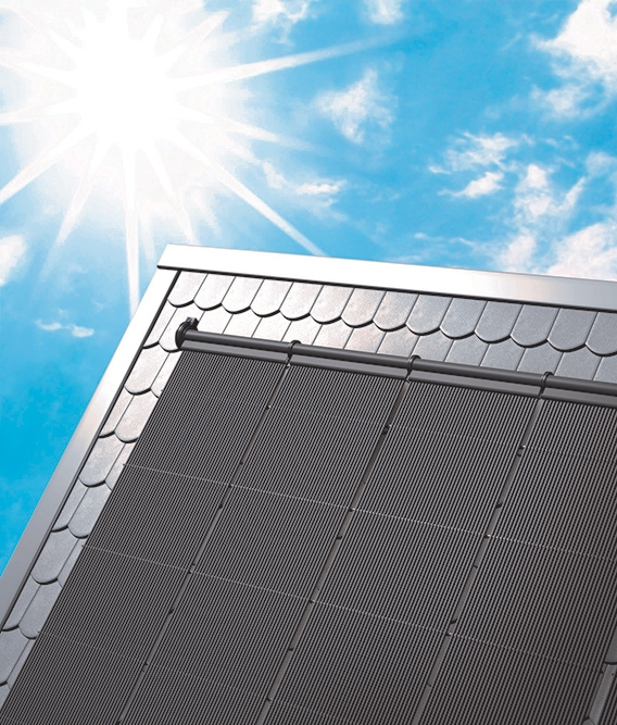 Climatizador solar - ambientada