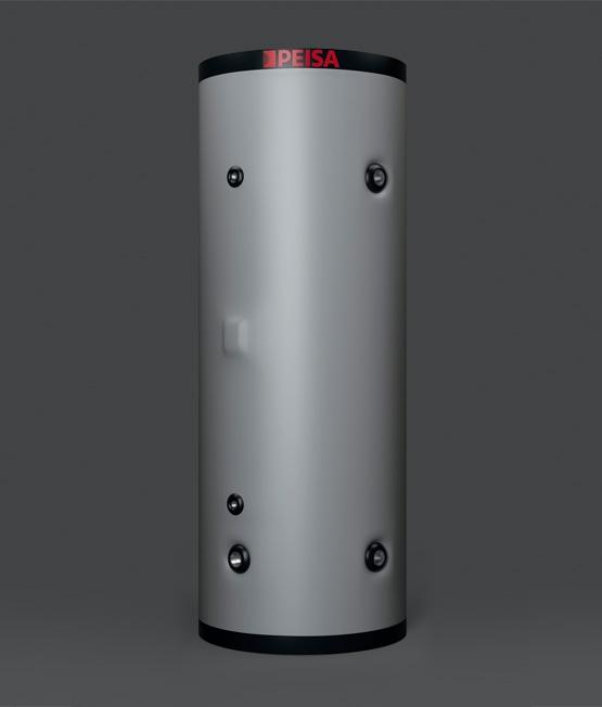 Tanque Acumulador de Acero Inoxidable - mediano