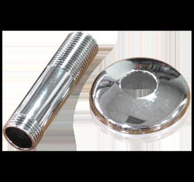 Kit Roseta Metal y Niple